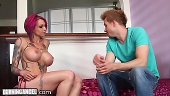 Squirting Milf With Big Tits Anna Bell Peaks Riding A Nice Hard Cock