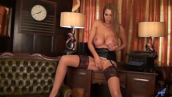 Leigh Darby Perky Nipples And Clit
