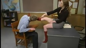 Little Princess Kalit The Warm Instructor Punishes Her Student Inside A Clasroom