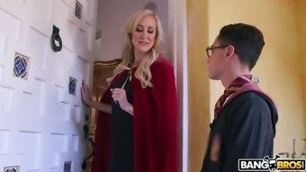 Brutally Sexy Milf Brandi Completely Love Wants To Fuck This Magician