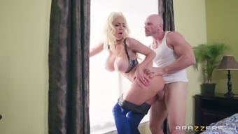 Nicolette Shea Is Basically A Naughty Dark Craving A Lover'S Massive Tool