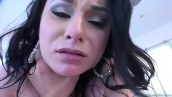 How Challenging Fella Fucks Milf Veruca James Up To The Time When He Gets Weary