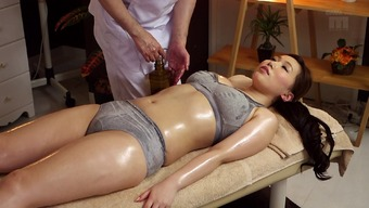 Sizzling Japanese People Milf Toward The Rubdown Tables For Finger Fucking