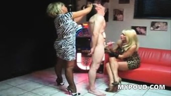 Perverted Two Different Milfs Spin Along With A Machine