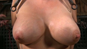 Big Boobed Enclosed Nasty Person Must Suffer Like She Is In Torment