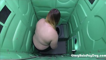 Bbw Swallows Ejaculate After Workout In Parking Lot From Her Admirers At The Gym