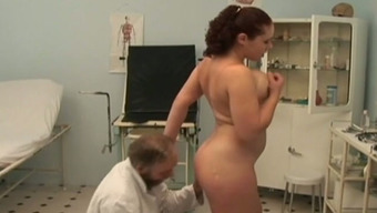 Big Tits Swedish Player Tramp Fucks Naughty Old Physician In His Office
