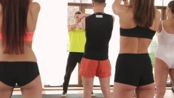 Fitnessrooms Barbara Bieber Has Got A Sensual Workout After Fitness Center Lesson