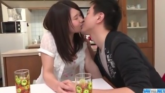 Sanae Akino Blows Hubby Prior To Going To Function