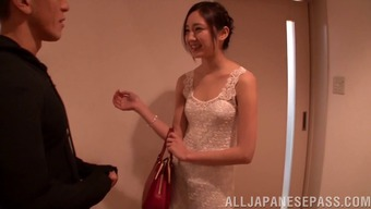 A Whole New Japanese Bride Offers The Fuck Of Her Career On Her Marriage Event Overnight