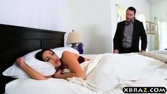 Dishonest Homemaker With Big Tits Fucked With Husband Truth Be Told There