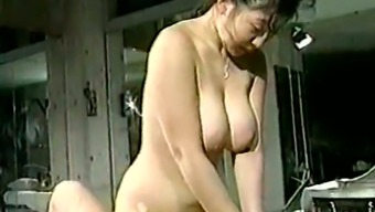 Hunk With The Use Of Smallish Cock Pleases Curvaceous And Busty Japanese People Krown