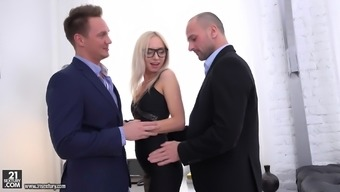 Sizzling Anus Times With The Use Of Bambi Dee, Vincent Vega And Andrew Marshall