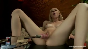 Finish Off Video Files With Rylie Richman Getting Toyed By A Machinery