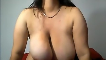Beautiful Colombian Along With Substantial Tits