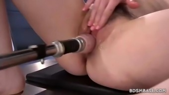 Free19 Machinery Fucking Independently Along With Amarna Miller