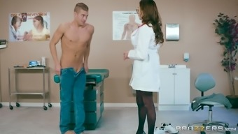 Ariella Ferrera Is A Large Breasted Physician Who Exactly Adores Riding A Penis