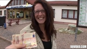 Big Tits German Hooker Gets Fucked For The Money