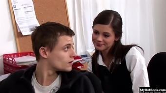 Little Caprice Has Always Desired To Have Oral Sex With Her Boyfriend