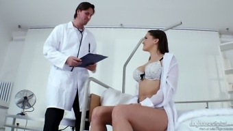 Fucking Hot Czech Babe Barbara Bieber Gets Caring Along With Altered Medical Professional