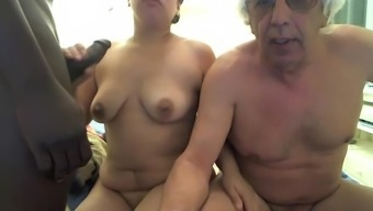Wife Knows That Her Faggot Husband Is Just Dying To Lick Up Some Thick Jizz